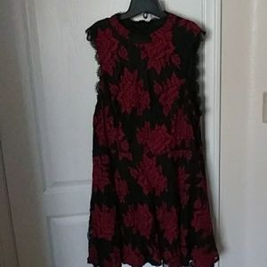 City Studio lace fit and flare dress size 24W